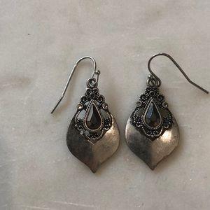 4 for $12// Lia Sophia silver earrings